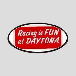 Red Racing Is Fun At Daytona (larger) Patches
