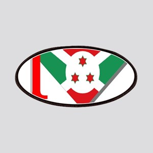 I love Burundi Patches