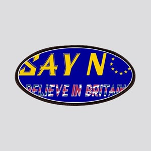 Believe In Britain! Patch