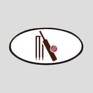 Cricket bat stumps Patches