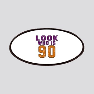 Look Who Is 90 Patch