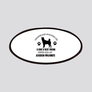 Alaskan Malamute Mommy designs Patches