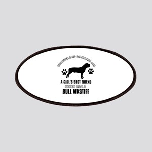 Bull Mastif Mommy designs Patches