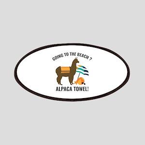 Alpaca Towel Patches