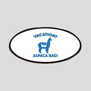Vacation? Alpaca Bag! Patches