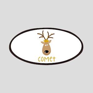 Comet Reindeer Patches