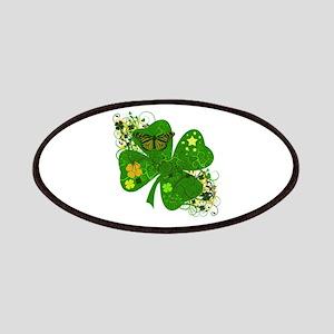 Fancy Irish 4 leaf Clover Patches