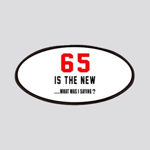 65 Is The New What Was I Saying ? Patch