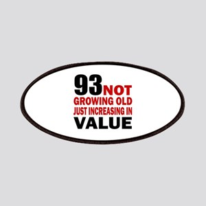 93 Not Growing Old Patch