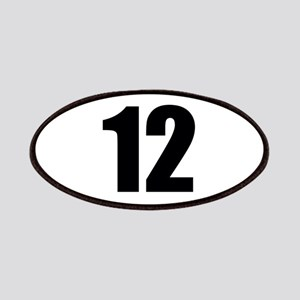 Number 12 Patch