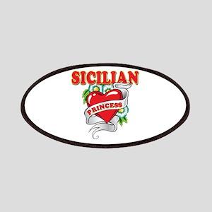 Sicilian Princess Patches