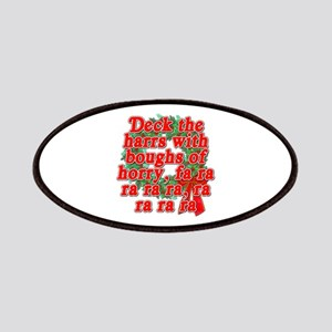 Deck The Harrs - Christmas Story Chinese Patches