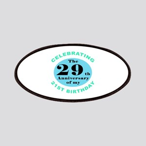 50th Birthday Humor Patches