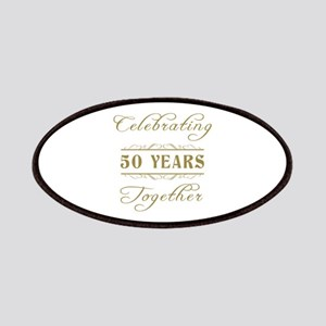 Celebrating 50 Years Together Patches