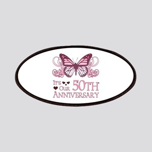 50th Wedding Aniversary (Butterfly) Patches