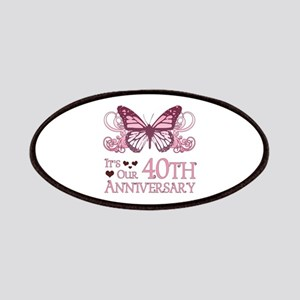 40th Wedding Aniversary (Butterfly) Patches