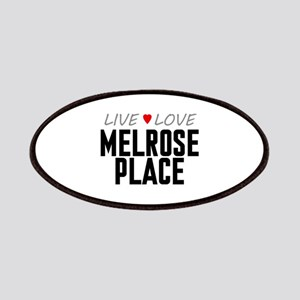 Live Love Melrose Place Patches