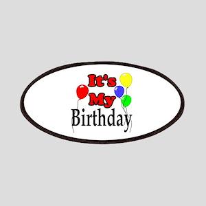 Its My Birthday Patch