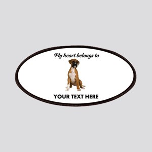 Personalized Boxer Dog Patch