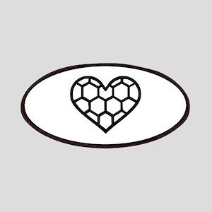Handball heart Patches