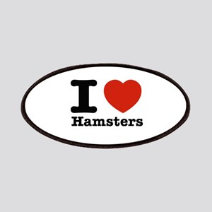 I Love Hamsters Patches