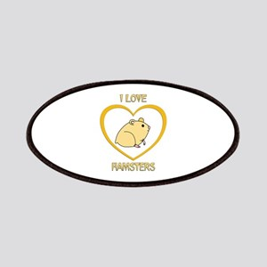 I Love Hamsters Patch