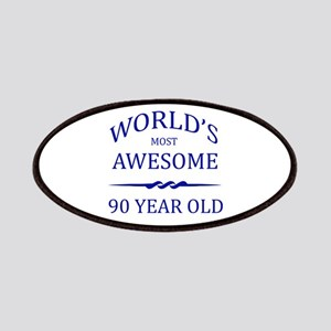 World's Most Awesome 90 Year Old Patches