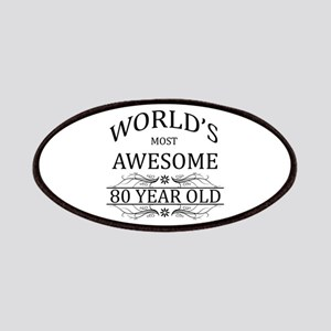 World's Most Awesome 80 Year Old Patches