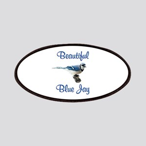 Beautiful Blue Jay Patches