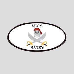 Ahoy Matey Patches