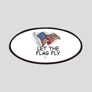 Patriotic American Flag Patches