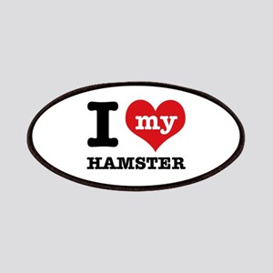 I heart Hamster designs Patches