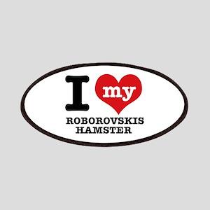 I love my Roborovski Hamster Patches
