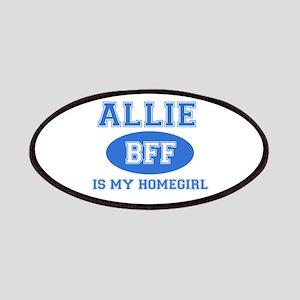Allie BFF designs Patches
