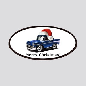 BabyAmericanMuscleCar_57BelR_Xmas_Blue Patches