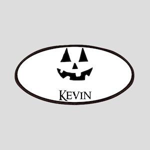 Kevin Halloween Pumpkin face Patches