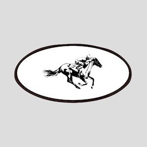 Horse Race Jockey Patch