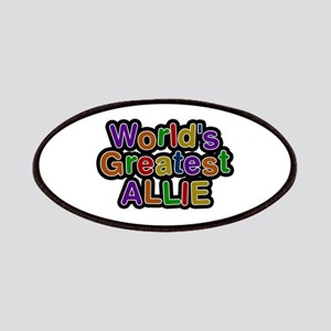 World's Greatest Allie Patch