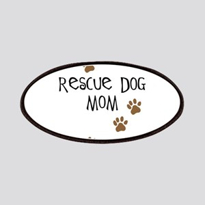 Rescue Dog Mom Patches