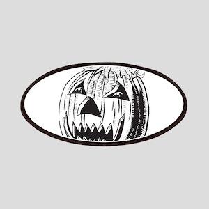Halloween - Jack OLantern Patches