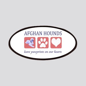 Afghan Hound Lover Patches