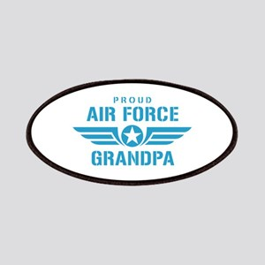 Proud Air Force Grandpa W Patches
