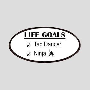 Tap Dancer Ninja Life Goals Patches