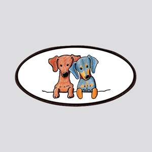 Pocket Doxie Duo Patches