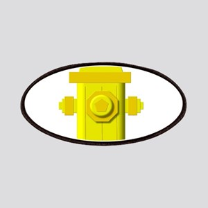 Yellow fire hydrant Patch