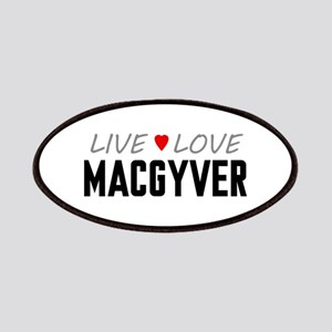 Live Love MacGyver Patches