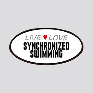 Live Love Synchronized Swimming Patches