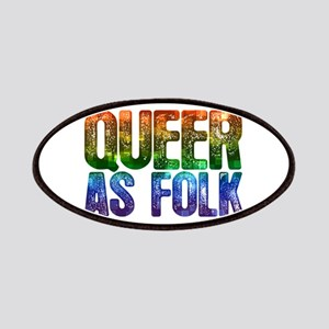 Rainbow Queer as Folk Patches