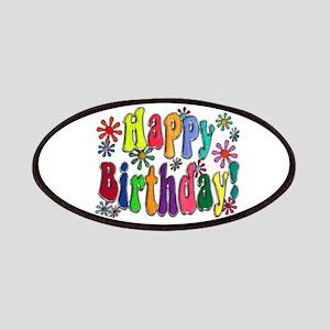 Happy Birthday Patches