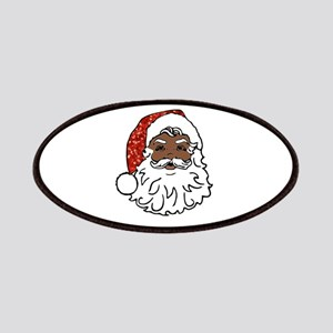 black santa claus Patch
